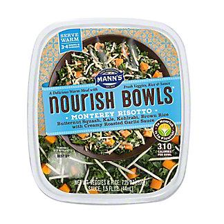 Mann's Nourish Bowls, Monterey Risotto, 8.75 oz