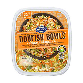 Mann's Nourish Bowls, Sesame Sriracha, 12 oz