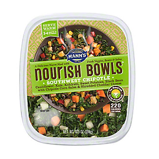 Mann's Nourish Bowls, Southwest Chipotle, 10.5 oz