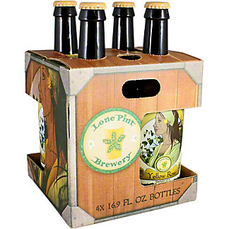 Lone Pint Brewing Yellow Rose 4 Pack, 4/16.9