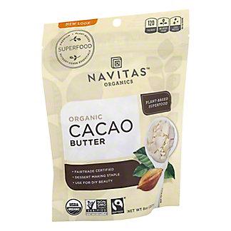 Navitas Naturals Cacao Butter, 8 OZ