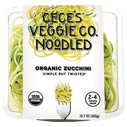 Veggie Noodle Co. Organic Zucchini Spirals, 10.7 oz