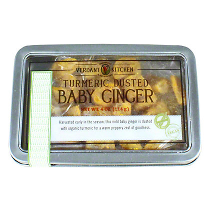 Verdant Kitchen Turmeric Dusted Baby Ginger, 4 oz