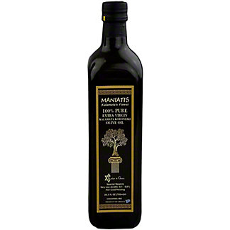 Maniatis Maniatis Kalamatas Finest Extra Virgin Olive Oil,25.3OZ