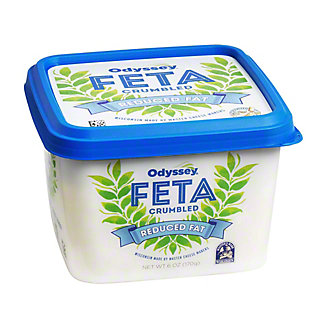Oddysey Reduced Fat Crumbled Feta,6 oz.