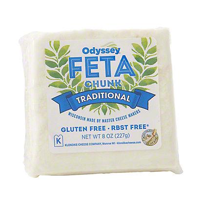 Odyssey Traditional Chunck Feta,8 oz.