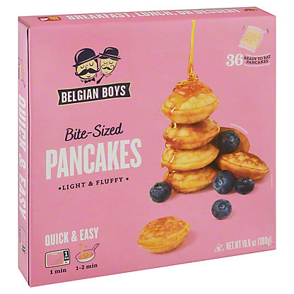 Belgian Boys Mini Pancakes, 10.6OZ