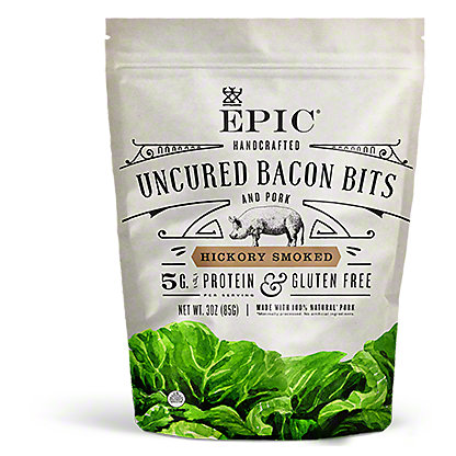 Epic Epic Hickory Smoked Bacon Bits,3 OZ