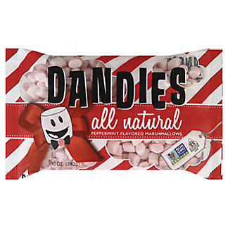 Dandies Peppermint Marshmallows, 10 oz