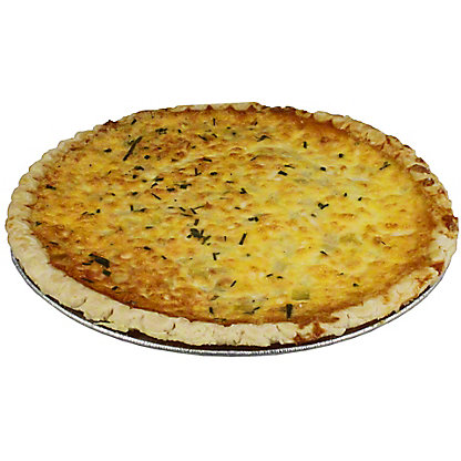 Central Market Smoked Goat Gouda And Apple Quiche,Ea