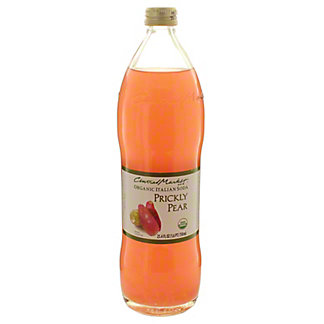 Central Market Organic Italian Soda Prickly Pear, 750 mL