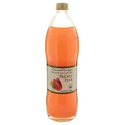 Central Market Organic Italian Soda Prickly Pear, 750 mL