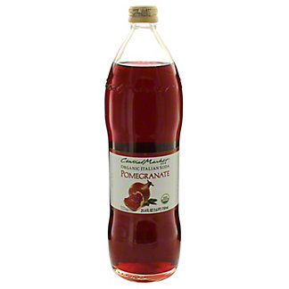 Central Market Organic Italian Soda Pomegranate, 750 mL