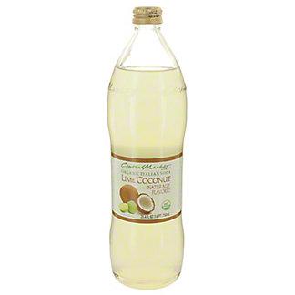 Central Market Organic Italian Soda Lime Coconut, 750 mL