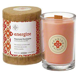 Root Candle Co. Energize Seeking Balance, 6.5 oz