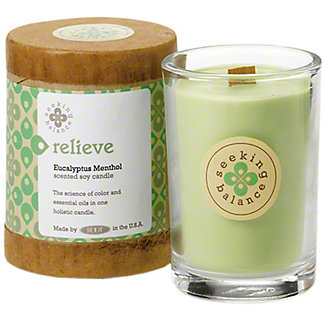 Root Candle Co. Relieve Seeking Balance Candle, 6.5 oz