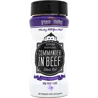 Grease Monkey Rubs Commander In Beef Steak Rub, 9 oz