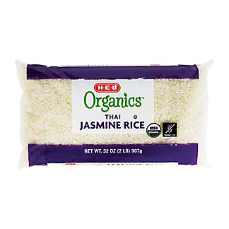 H-E-B Organics Thai Hom Mali Jasmine Rice,32 OZ
