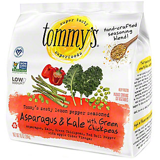 Tommy's Seasoned Asparagus & Kale with Green Chickpeas, 10 oz