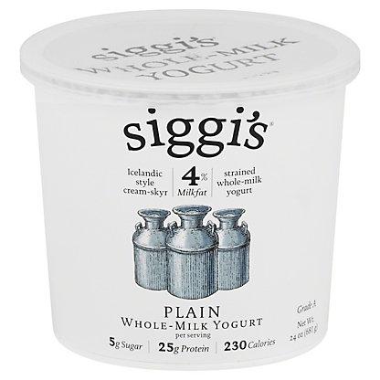 Siggis 4% Plain Yogurt, 24 oz