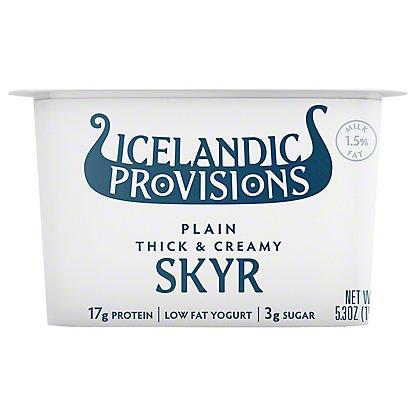Icelandic Provisions Plain Skyr,5.3 oz
