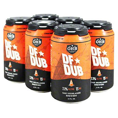 Oak Highlands DF Dub Dunkelweizen,6/12 oz