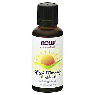 NOW Essential Oils Good Morning Sunshine! Uplifting Blend, 1 oz