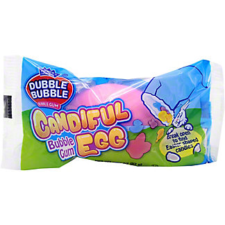 Dubble Bubble Candiful Bubble Gum Egg, 2.89 oz
