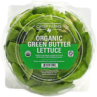 Grower Pete's Organic Living Butter Lettuce,EACH