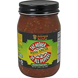 Chilitepin King King Salsa,16 OZ
