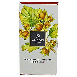 Amedei Nicciole Milk Chocolate With Hazelnut, 50GR