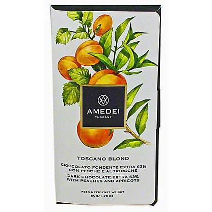 Amedei Toscana Blond Dark With Peach And Apricot, 50GR