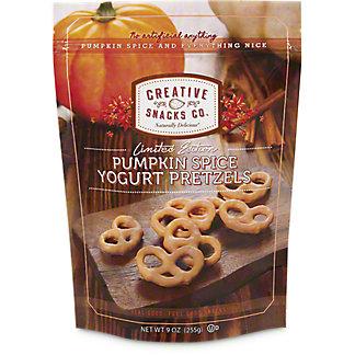Creative Snacks Pumpkin Spice Yogurt Pretzels, 9 oz