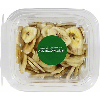 Central Market Banana Chips, 5.5 oz