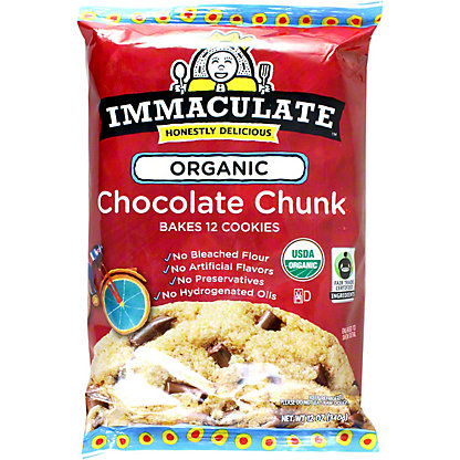 Immaculate Baking Immaculate Baking Organic Chocolate Chunk Cookies, 12 oz