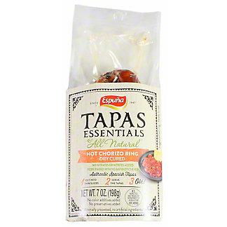 Espuna Tapas Essentials Hot Chorizo Ring, 7 oz