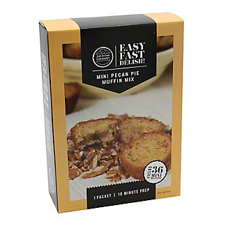 JUST IN TIME GOURMET Pecan Muffin Mix,11.62Z