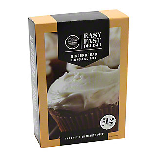 Just In Time Gourmet Gingerbread Cupcake Mix, 15.31 oz