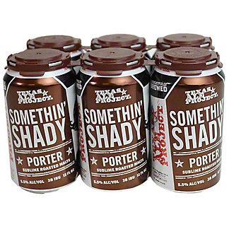 Texas Ale Project Somethin Shady Porter, Cans, 6 pk, 12 fl oz ea