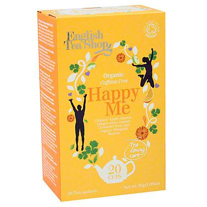 ENGLISH TEA SHOP Organic Happy Me Sachet,20 ct