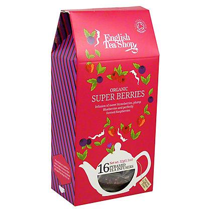 English Tea Shop Organic Superberries Tea Pyramids, 16 ct