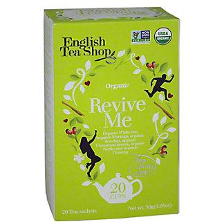 English Tea Shop English Tea Shop Organic Revive Me Tea Sachet, 20CT