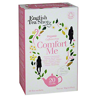 English Tea Shop Organic Comfort Me Tea Sachet,20CT