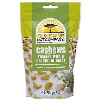 Sunshine Nut Company Cashews Roasted with Herbs, 7 oz