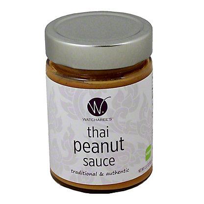 Watcharees Thai Peanut Sauce,12.8OZ