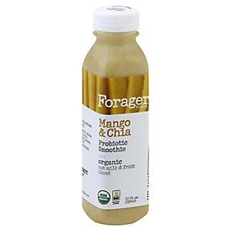 Forager Project Organic Mango & Chia Probiotic Smoothie, 12 oz