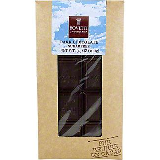 Bovetti Dark Chocolate Sugar Free, 100GR
