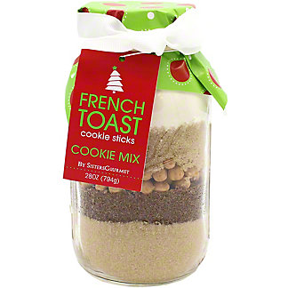 Sisters Gourmet Merry & Bright French Toast Cookie Sticks, 28 oz