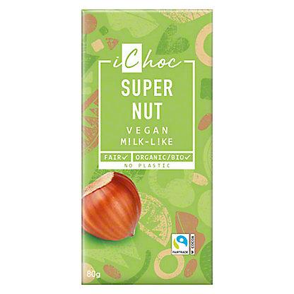 ichoc vegan chocolate super nut 2 8oz central market