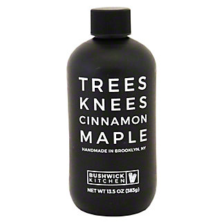 Bushwick Kitchen Farms Trees Knees Maple Cinnamon Maple Syrup, 13.5 oz